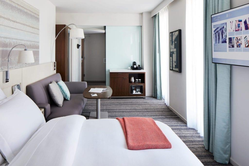 Park Terrace Hotel room